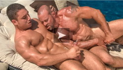 colt studio group hardcore sex at the pool